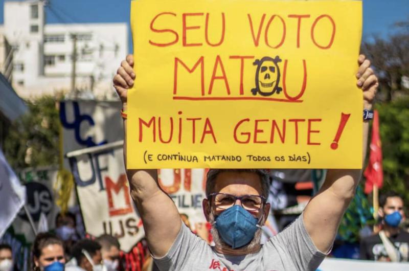 Nas omissões sobre o #29M, família Marinho foi a pior, pois destacou Bolsonaro e seus motoqueiros em edição anterior