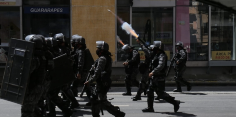 Vice-governadora Luciana Santos diz que repressão no Recife não foi autorizada pelo governador Paulo Câmara. Foi ação do bolsonarismo fardado?