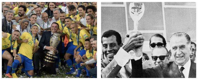 Com Cloroquito de mascote, Bolsonaro abraça Copa América com UTIs lotadas e risco de terceira onda