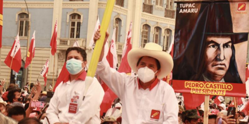 Candidato de esquerda no Peru quer mudar Constituição para destinar 20% do PIB à Saúde e Educação