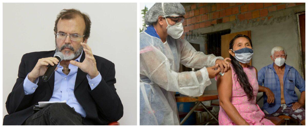Professor da UFRJ: Sem ampla e rápida vacinação contra covid, é iminente a piora do quadro epidemiológico