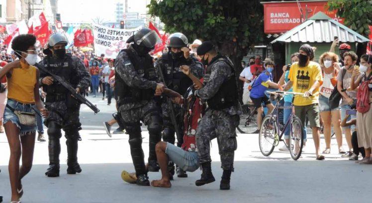"""MPF, sobre conduta policial no Recife: """"Força desproporcional""""; Procuradoria dos Direitos do Cidadão receberá denúncias"""