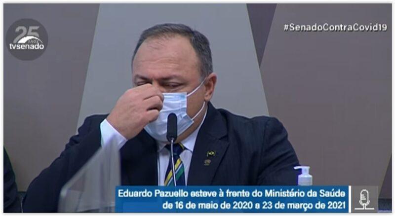 General Pazuello, ex-ministro da Saúde, depõe na CPI do Genocídio; acompanhe