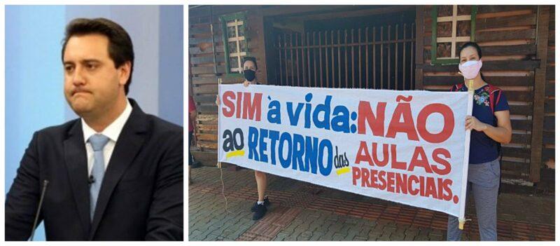 Covid: Ratinho Jr. ignora alertas de Sindicato e pesquisadores; crescem número de casos e fila por leito em hospitais