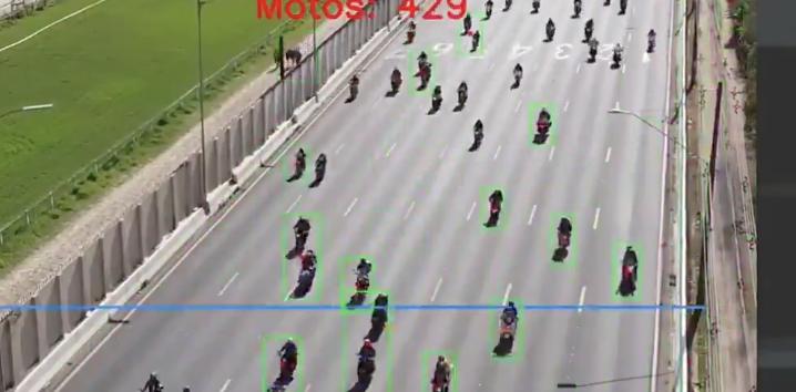 Contagem mostra 6.253 motos com Bolsonaro na marginal. Recorde é outra fake news bolsonarista