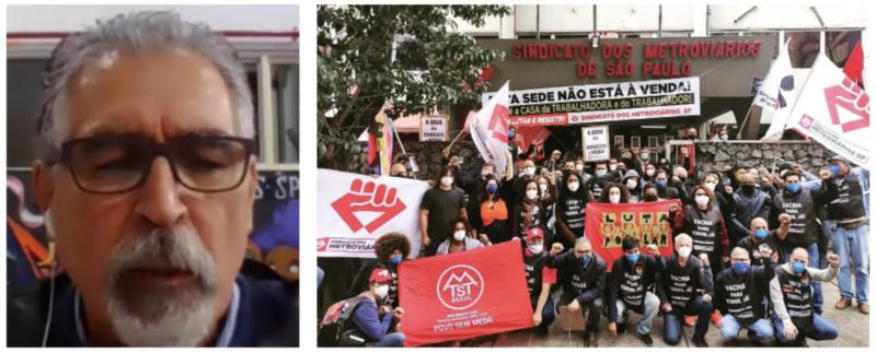 """Fajardo: """"Roubo"""" de sede dos Metroviários, depois de 32 anos, revela ódio de Doria ao sindicalismo equivalente ao de Bolsonaro"""