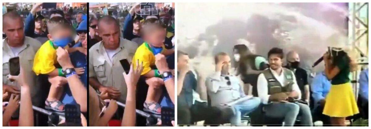 """Professor Nicolelis, sobre Bolsonaro arrancar a máscara de uma criança e mandar outra tirar a dela: """"Atitudes simplesmente patéticas e criminosas!""""; vídeos"""
