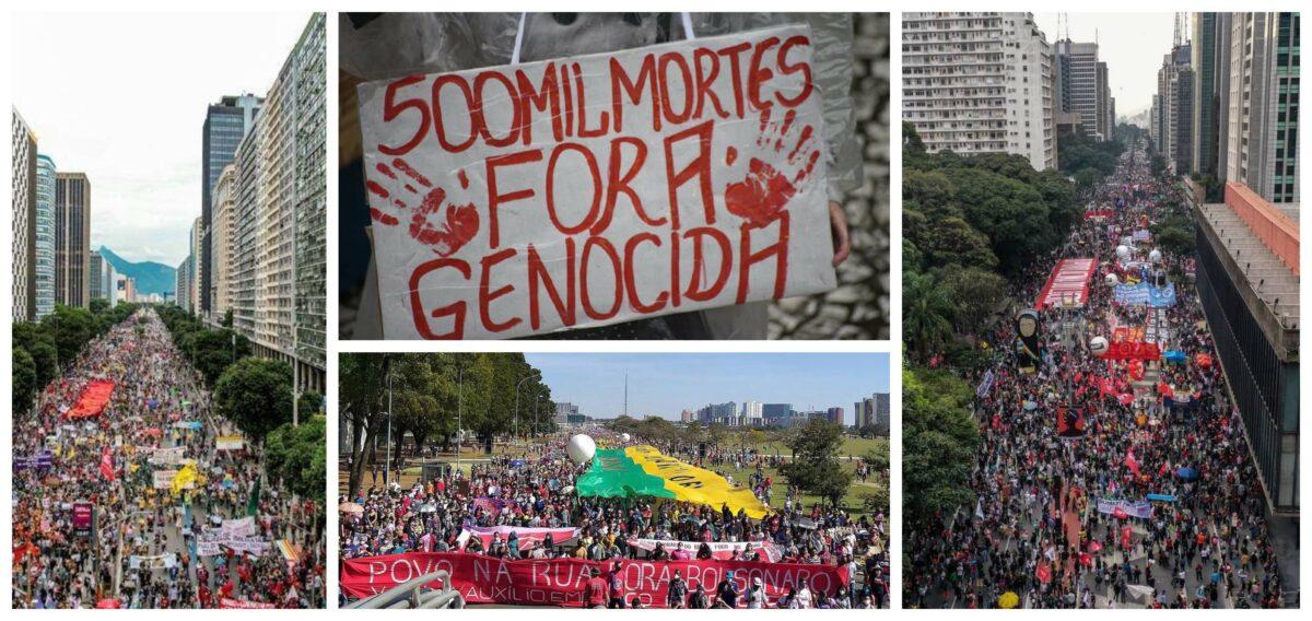 José do Vale: Soterrado pelas 500 mil mortes, o povo está na rua para vencer o maior inimigo dos brasileiros