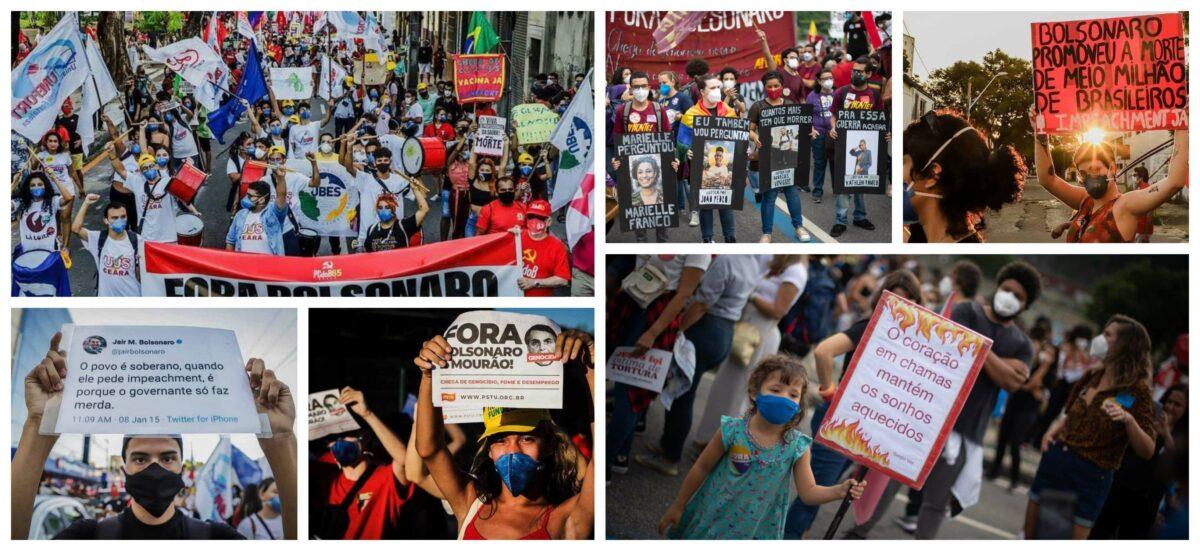 """Pimenta comemora multidão de jovens no 19J: """"Talvez estejamos vendo um movimento como o do Chile"""""""
