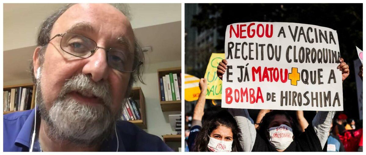 """Estudo de 4 cientistas brasileiros mostra como a covid se espalhou: """"Se o governo tivesse cumprido seu dever, Brasil teria evitado essa catástrofe"""", afirma Nicolelis; vídeo"""