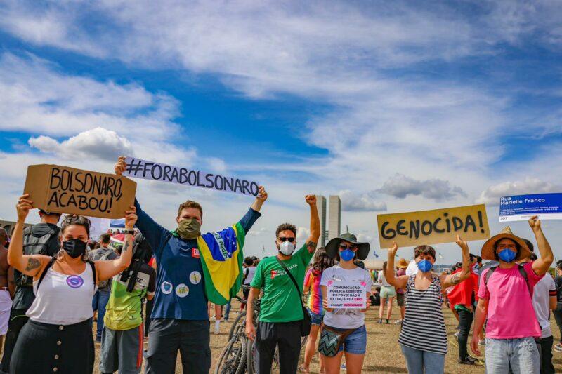 José Avelange: Como mobilizar o povo em defesa da democracia em plena pandemia