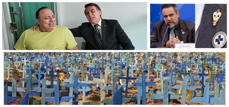 José do Vale: Bolsonaro e militares desqualificados no Ministério da Saúde são os responsáveis pela tragédia da covid no Brasil
