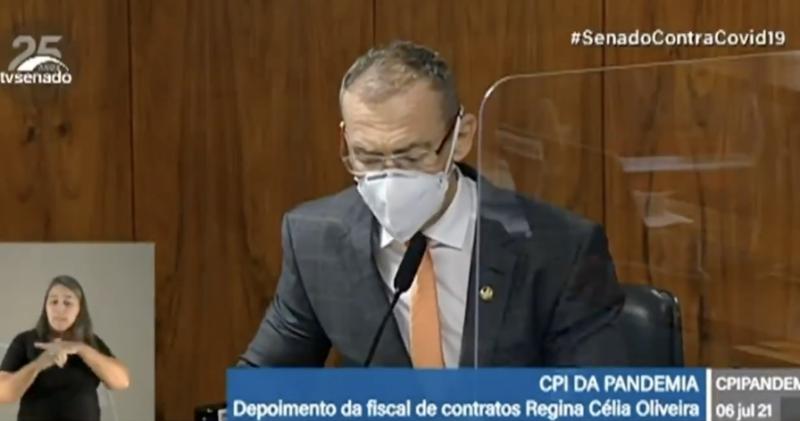 Depois de depoimento de fiscal que não fiscalizou, senador Contarato lista seis crimes de Bolsonaro na pandemia