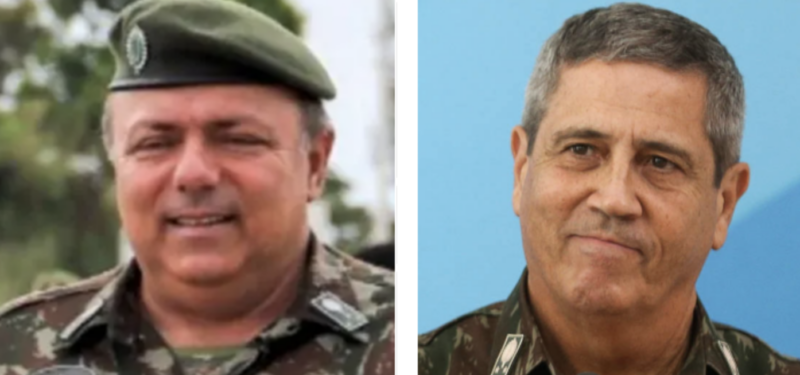 Altamiro Borges: O salário de R$ 100 mil do general Braga Netto e os R$ 88 mil de gratificações do general Pazuello