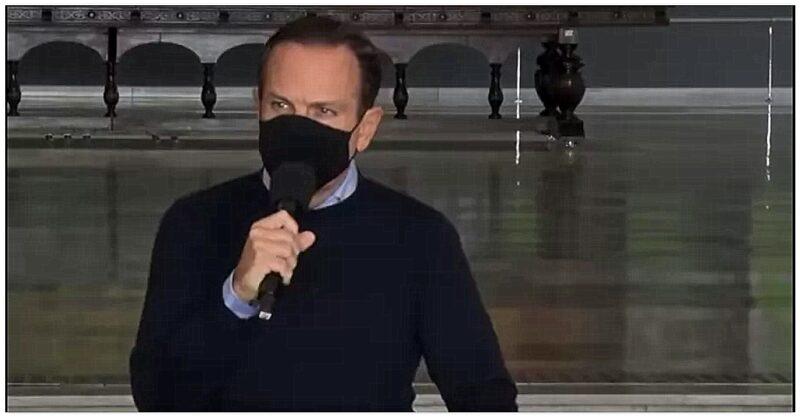 Evaldo Stanislau: Doria lança o 'negacionismo gourmet'; faz coletiva de imprensa com sintomas de covid