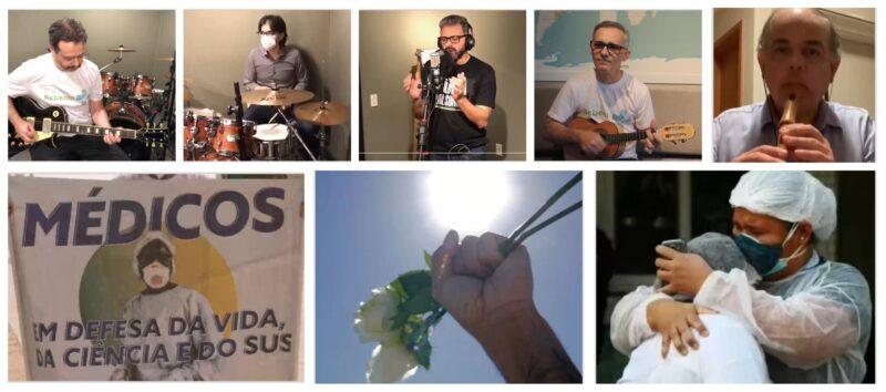 Para convocar para o 24 de Julho, banda de médicos do Ceará faz releitura de clássico de Renato Russo; vídeo