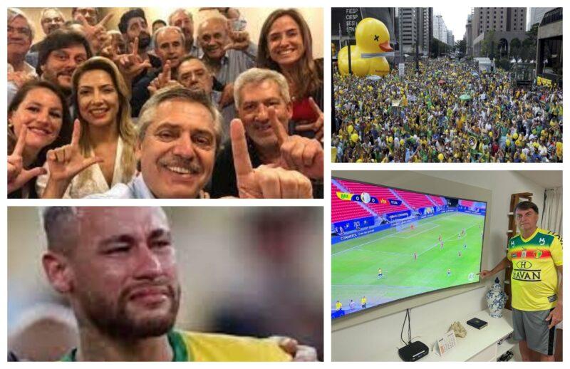 Eliara Santana: Os patos da Fiesp, a camisa verde-amarela e a derrota para a Argentina