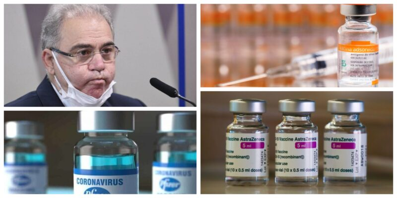 Omissão criminosa: Ministério da Saúde não entrega vacinas a estados e municípios, mesmo tendo 16 milhões em estoque