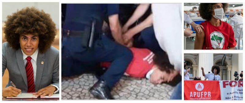 Baggio, do MST, denuncia perseguição policial a vereador: Greca e Ratinho têm a obrigação de impedir que Renato se torne a Marielle de Curitiba; vídeos