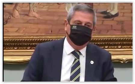 """Paulo Teixeira a Braga Netto: """"Quem decide sobre voto impresso é o Congresso, cabe a vossa excelência obedecer. Caso contrário, será preso""""; vídeos"""