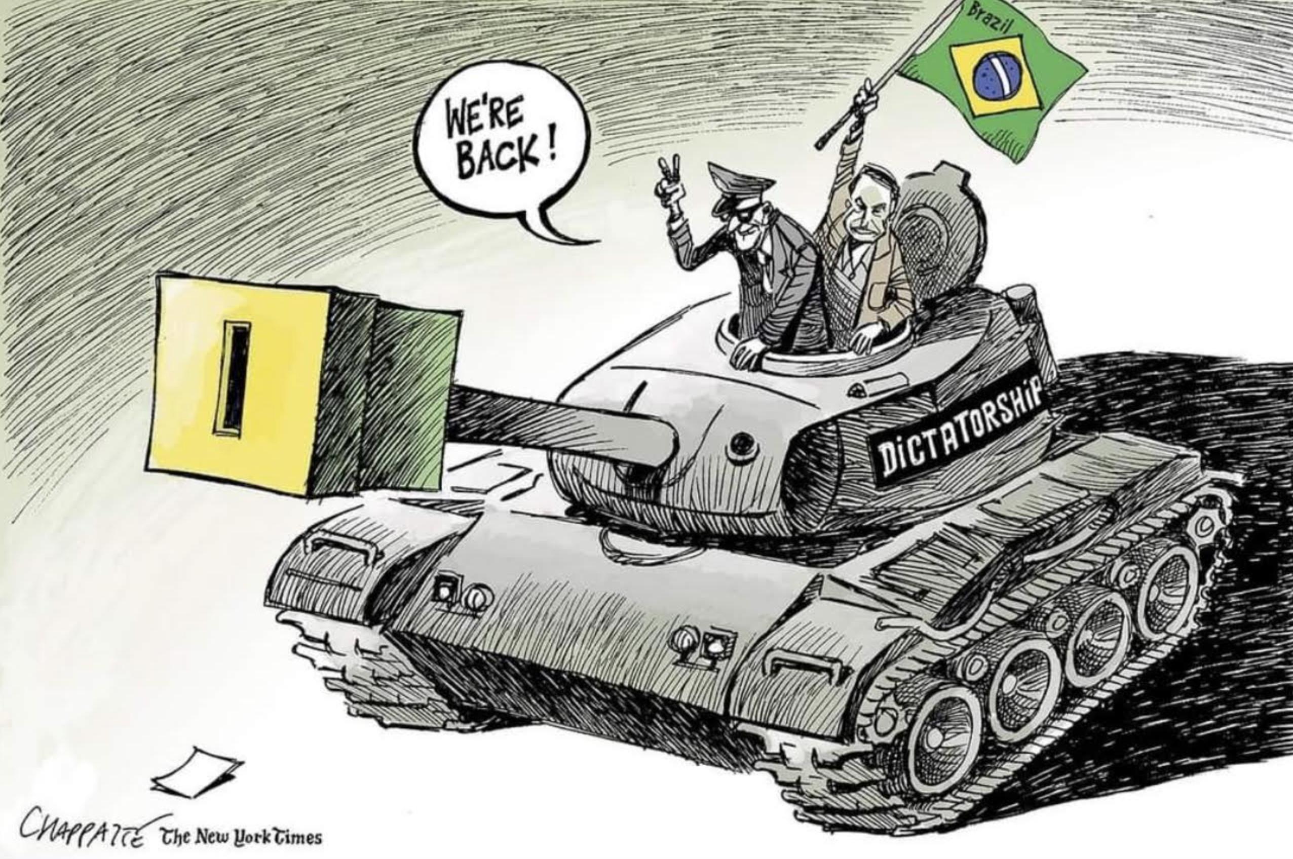 Fumacê de Bolsonaro desmoraliza Brasil no mundo e Câmara enterra PEC do voto impresso