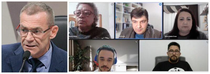 Bolsonaristas atacam ato da enfermagem em defesa do SUS; Fórum das entidades repudia; íntegra e vídeo