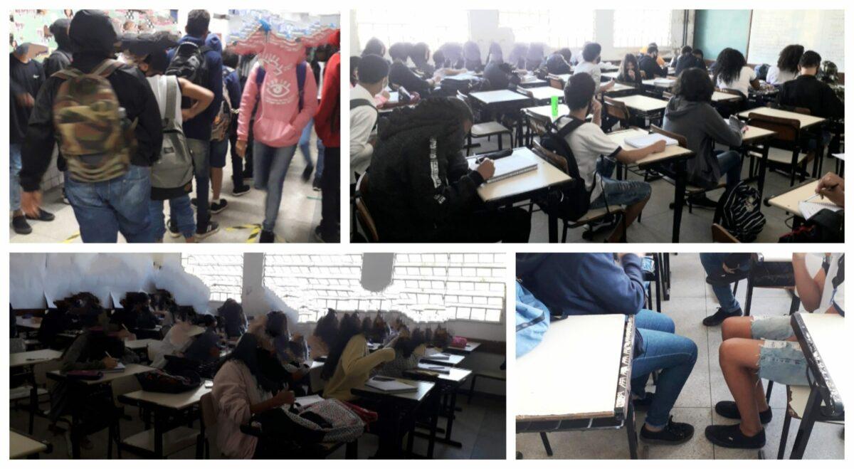 """Roberto Bitencourt: Realidade nas salas de aula desmente """"rigorosos  protocolos de controle"""" e casos de covid explodem nas escolas da Prefeitura do RJ"""