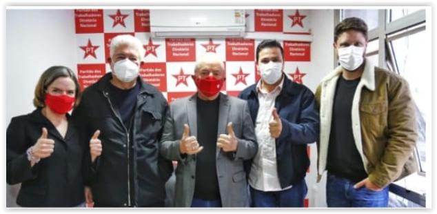 Lula vai a Curitiba e convida Roberto Requião para se filiar ao PT