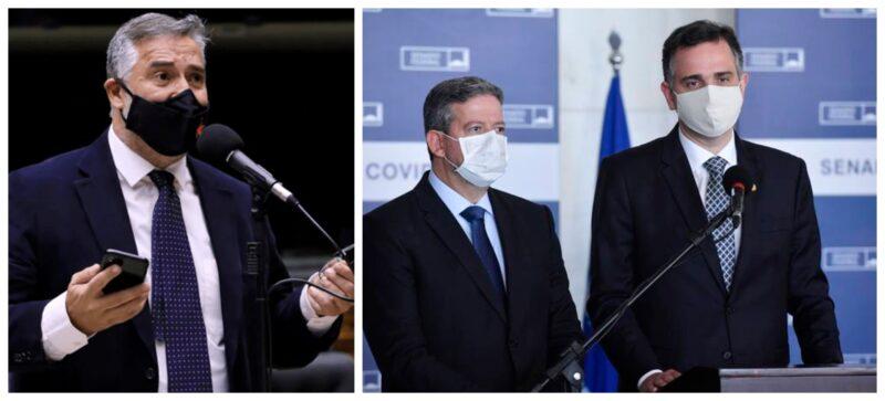 """Pimenta cobra de Lira e Pacheco reação contra ameaças diárias de Bolsonaro à democracia e ao Parlamento: """"Silêncio é cumplicidade""""; vídeo"""