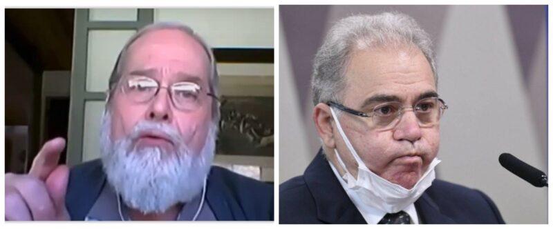 """Vecina detona ministro Queiroga: """"Além de não governar a saúde no Brasil, desrespeitou o Conselho Nacional de Saúde; é inadmissível""""; vídeo"""