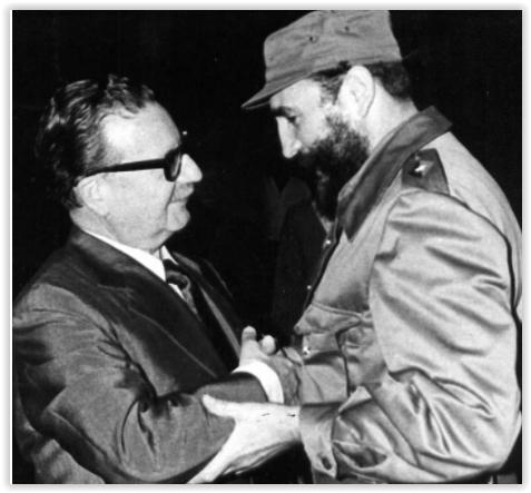 Vídeo: Diálogo histórico entre Fidel Castro e Salvador Allende; legendas em português