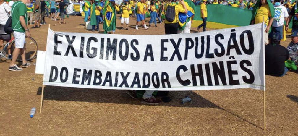 Diante de multidão, Bolsonaro ameaça STF e políticos pedem que ela seja preso ou impichado antes de dar golpe