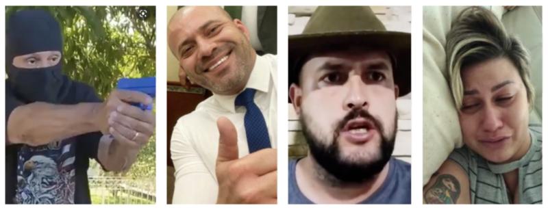 """Foragido, Zé Trovão entra na lista dos traídos  por Jair Bolsonaro, que usa caminhoneiro para parecer """"moderado"""""""