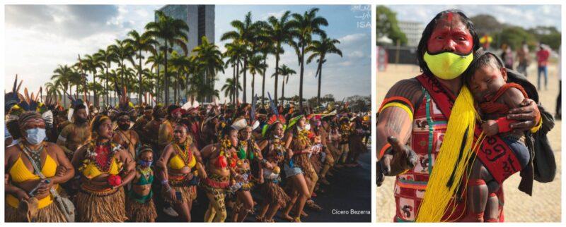 Mulheres indígenas ocupam Brasília para reflorestar mentes e curar a Terra; leia o manifesto das primeiras brasileiras