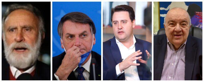 Dr. Rosinha: Política genocida de Ratinho Jr e Greca para covid não difere da de Bolsonaro; mortes comprovam