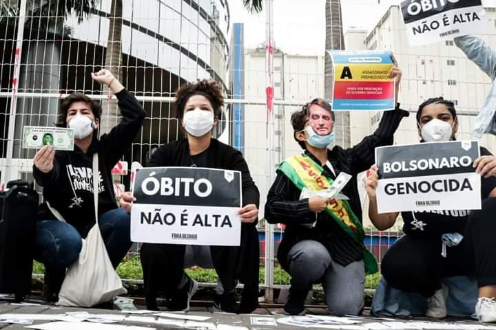 """Levante da Juventude escracha Prevent e governo Bolsonaro:  """"Que sejam responsabilizados!"""""""