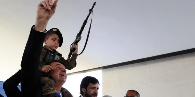 Sociedade Brasileira de Pediatria: Uma criança ou adolescente morre por hora por ferimentos de armas de fogo