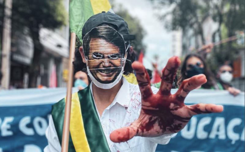 """Bolsonaristas falam em """"fracasso"""", mas escondem as fotos de multidões pelo impeachment em todo o Brasil; vídeos"""