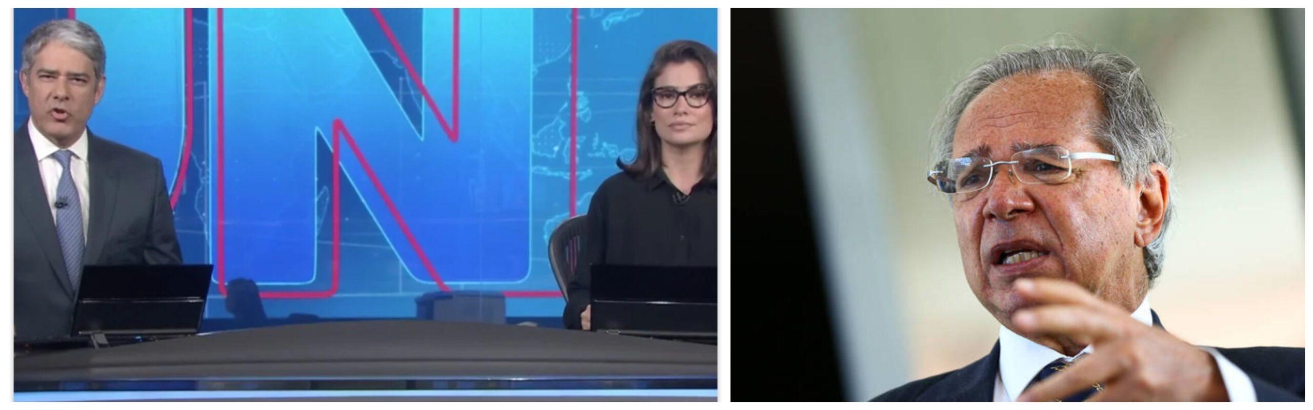 Eliara Santana: Absurda blindagem do JN ao ministro Paulo Guedes e a offshore em paraíso fiscal