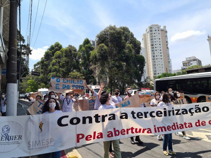 Emílio Ribas: Médicos denunciam recusa do governo Doria em contratar profissionais para o hospital e risco de privatização; vídeo